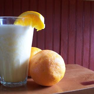 Orange Cream Milkshake Recipes