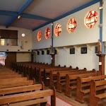 Bateau-chapelle Je sers : nef