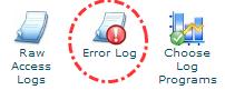 Tombol error log