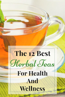 These herbal teas are my top choices to benefit your health and wellness.