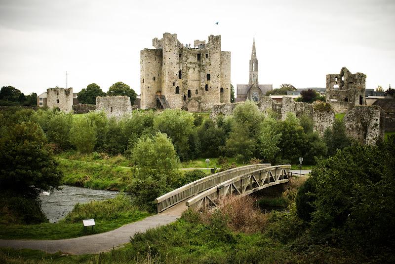 Irlandia -- Trim Castle..