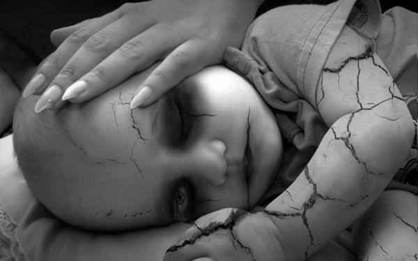 Brittle Skin Baby Gothicwallz, Demons
