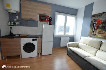 Studio meublé 12,65 m2