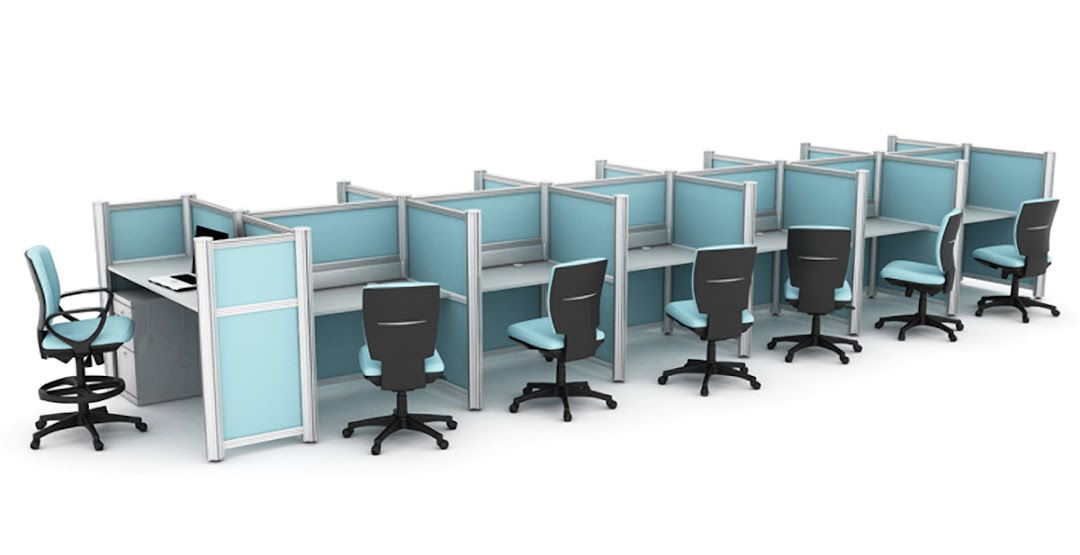 Mobiliario modular sistemas de mobiliario mobiliario for Muebles para call center