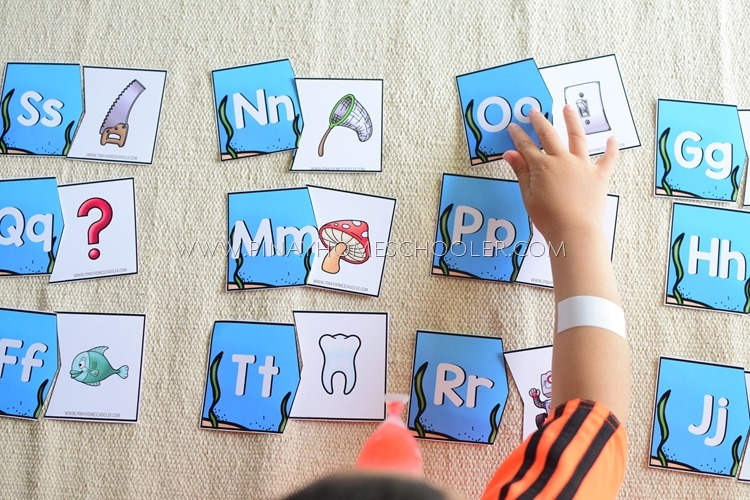 BEGINNING LETTER SOUND MATCH