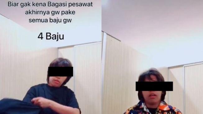 Viral Cewek Cerita Pakai Semua Baju Agar Tak Bayar Bagasi Pesawat: Gua Jenius Banget!