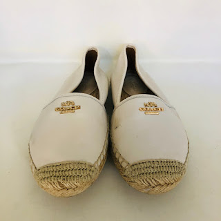 Coach Leather Espadrilles