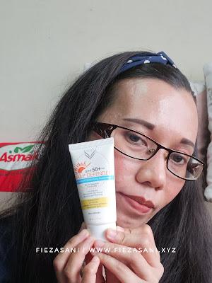 nuvit sunblox,kebaikan nuvit,sunscreen terbaik untuk kulit kombinasi,krim pelindung matahari,