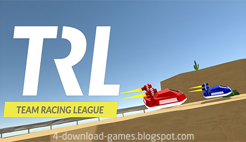 لعبة  السباق Team Racing League