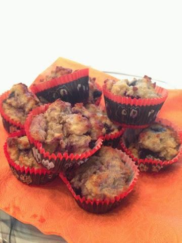 Muffins med äppelmos