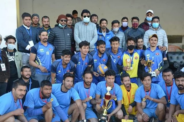 District Level Volley Ball Tournament Concludes in Kargil