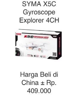 peluang bisnis impor mini drone dari china profit hingga 300%