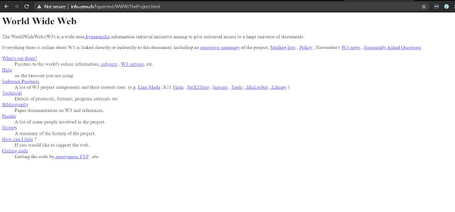World First Website Image