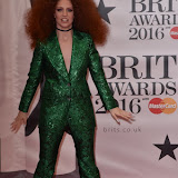 OIC - ENTSIMAGES.COM - Jess Glynne at the  The BRIT Awards 2016 (BRITs) in London 24th February 2016.  Raymond Weil's  Official Watch and  Timing Partner for the BRIT Awards. Photo Mobis Photos/OIC 0203 174 1069