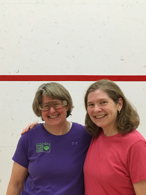 Coleen Phillimore and Deb Harrison