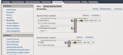 Aprovisionamiento de red independiente para conexión iSCSI en servidor VMware ESXi