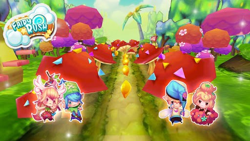 Fairy Rush 2: Fly To Candyland