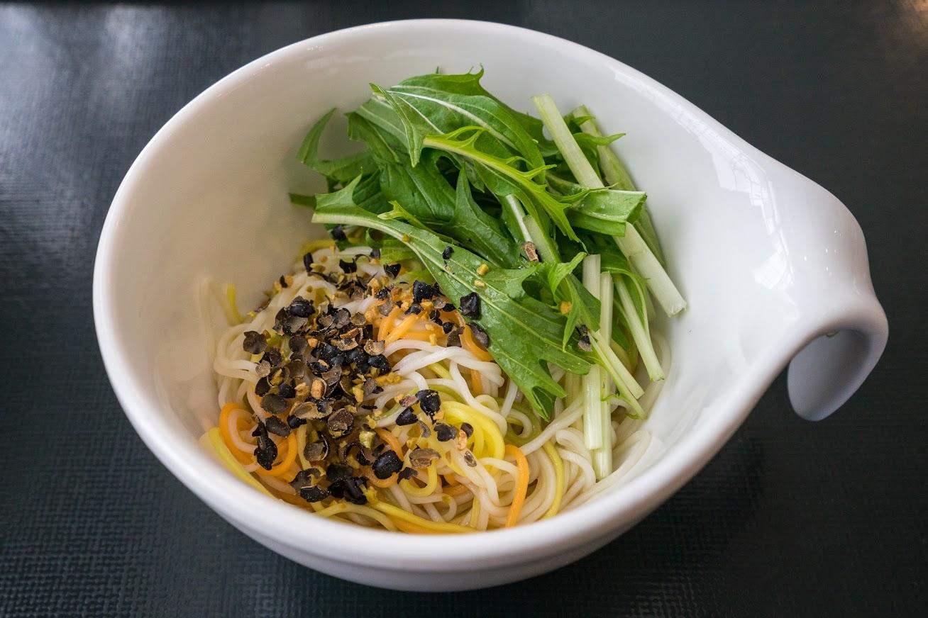 野菜素麺が、ひんやり~フレッシュ