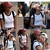 "MALIA OBAMA MADE TO WEAR A ""SMOKING KILLS"" T-SHIRT AFTER BEING CAUGHT SMOKING ON CAMERA"