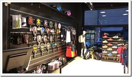 Inauguran una nueva tienda de pádel en Las Rozas, Madrid