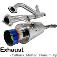 Catback Exhaust, Muffler