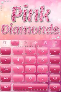 Pink Diamonds Keyboard - náhled