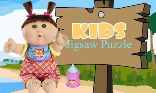 Kid Jigsaw Puzzle: Wide Winter
