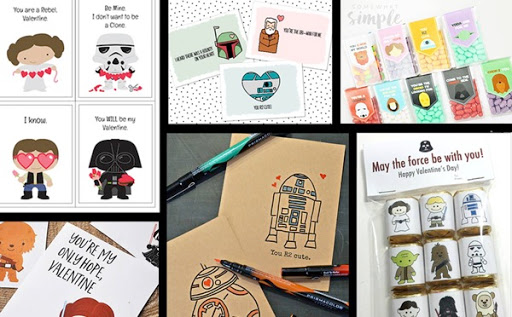 graphic about Printable Star Wars Valentine identified as 30 Totally free Printable Star Wars Valentines - The Kim 6 Restore