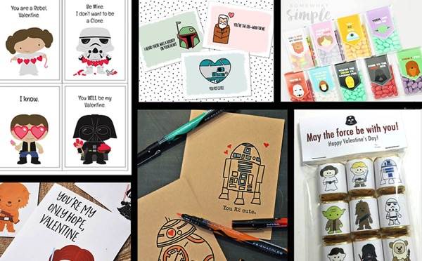 Free Printable Star Wars School Valentines
