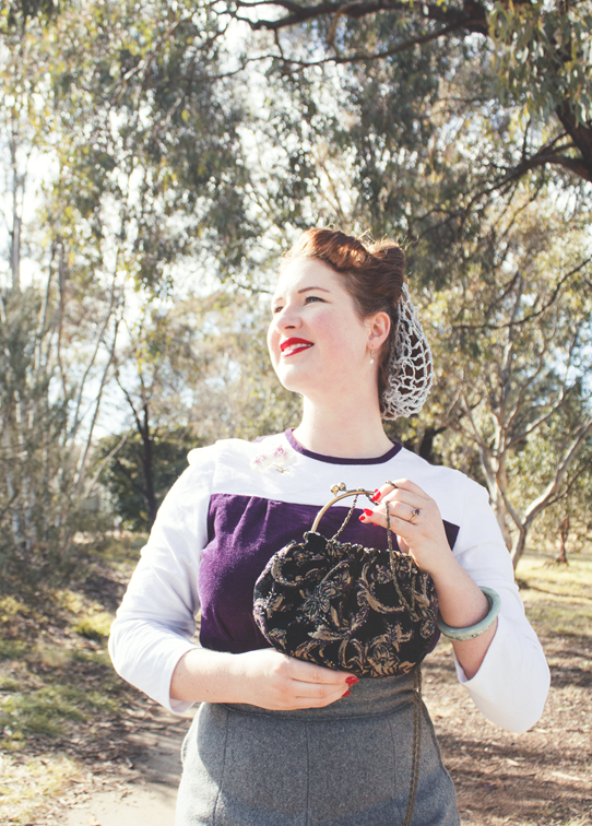1940's vintage style | Lavender & Twill