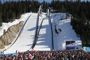 Ski jumping at Whistler Olympic Park
