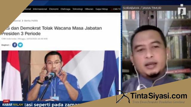 Wacana Tiga Periode Pemerintahan Jokowi, Analis Senior PKAD: Otoriter Gaya Baru?