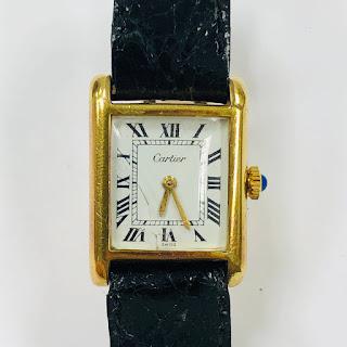 Cartier Vintage Ladies Tank Watch
