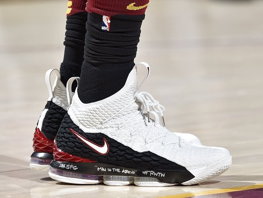 0781a85aad2 LBJ Debuts Air Zoom Generation Inspired LeBron Watch 15 ...