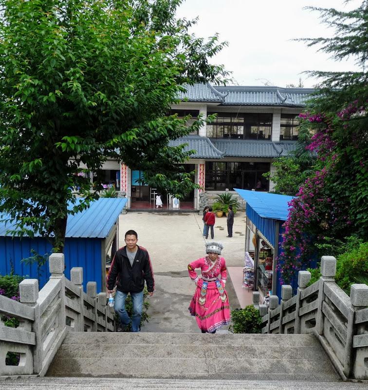 CHINE.YUNNAN.KUNMING , temple Lac Dian Chi - P1270748.JPG