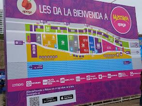 Photo: Map of the fair