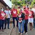 Agentes de saúde e de endemias realizam ação contra a dengue em Igarapé Grande