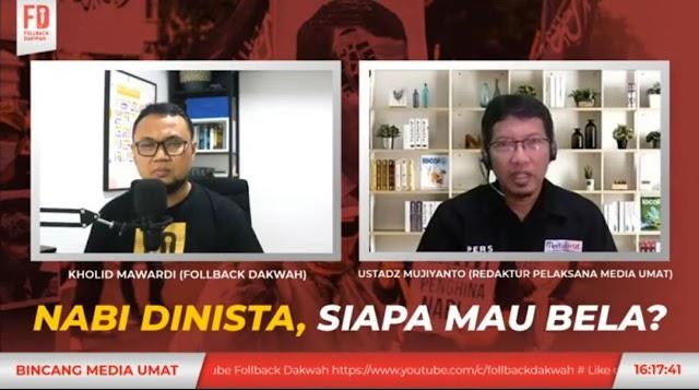 Nabi Dihina, Redpel Media Umat Serukan Boikot Sekularisme