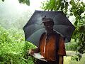 Surveying in the rain | photo © HughStLawrence