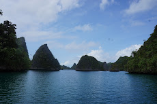 Wayag in Raja Ampat- this was my favourite place, the scenery was absolutely stunning