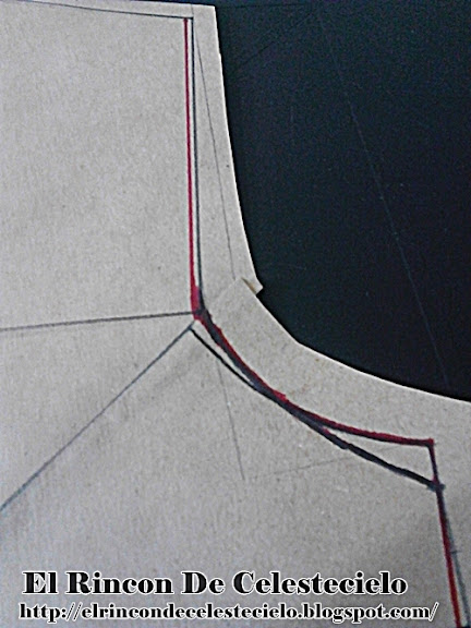 Eliminado medio centímetro en la sisa del patrón para tejido de punto