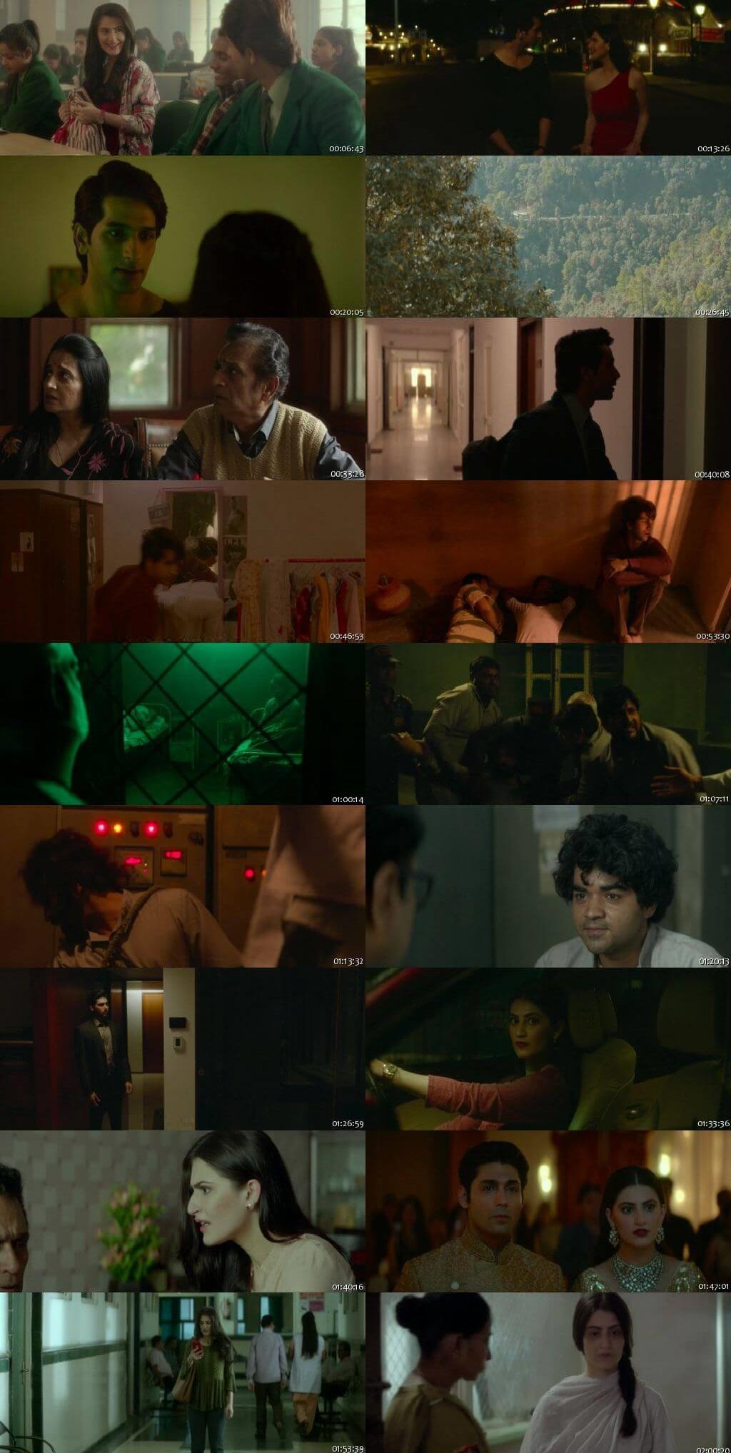 Screen Shot Of Yeh Saali Aashiqui 2019 300MB HDRip 480P Full Hindi Movie Watch Online Free Download