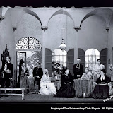 The cast of THE WOMEN HAVE THEIR WAY - May 1932.  Property of The Schenectady Civic Players Theater Archive.