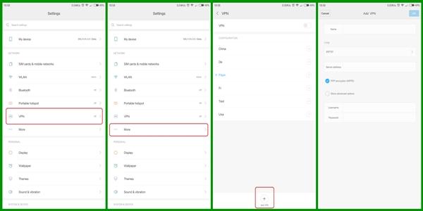 Sebenarnya tidak terlalu sulit untuk memakai VPN di Xiaomi 5 Cara Menggunakan VPN di Xiaomi