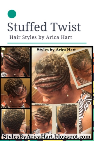 Black hair styles, protective hairstyles, black  updo hairstyles, black hair blog, stuffed twist hairstyles, pincurls, african american hairstyles