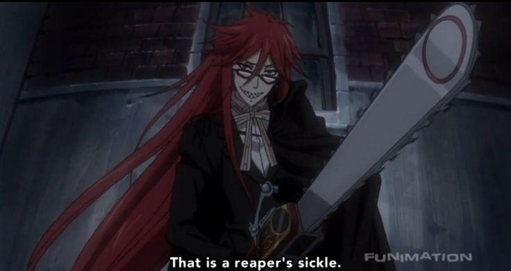 Death Scythe ( Black Butler )