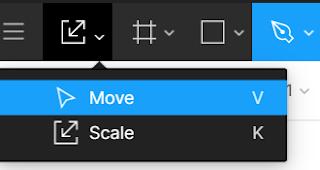 kegunaan move, scale,