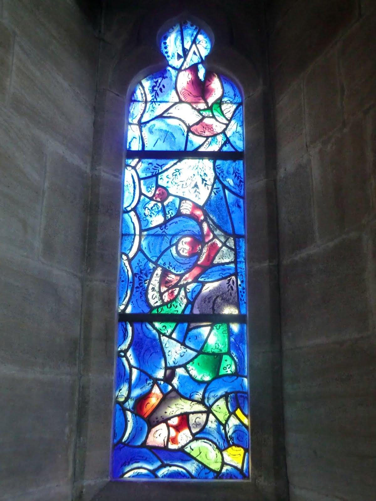 CIMG1565 Chagall window #7, All Saints church