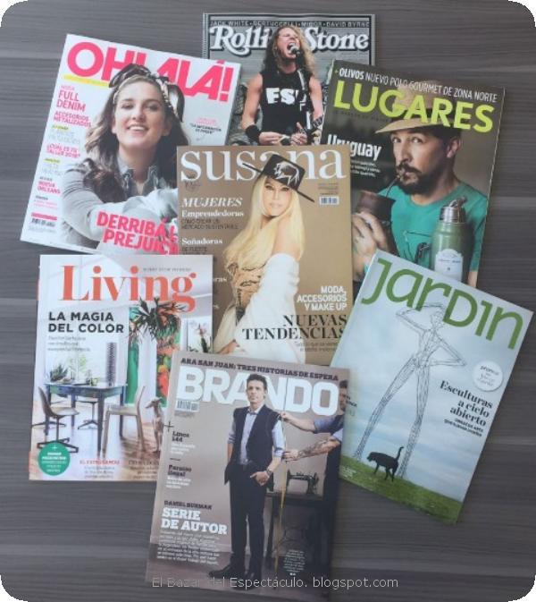 Revistas del grupo la nacion de marzo 2018 tapas y for Revistas de chismes del espectaculo