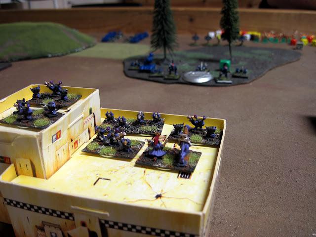 Kal's Children face off against Ed's Marines.